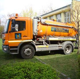 Tlakové čistenie | Odborné čistenie kanalizácií - In-kanál